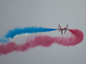 red arrows - sidmouth 2018