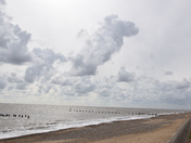 Skies seen over Lowestoft This Morning