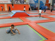 Exercise and fun at Better Extreme Trampoline Park in Barking