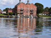 My walk today at Oulton Broad