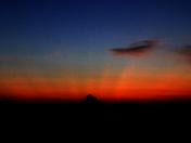 True crepuscular rays