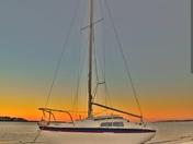 The Yacht Sunset capture