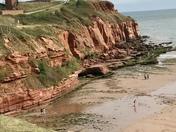 Coastal walk to Exmouth