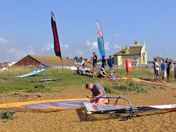 Windsurfing event at Felixstowe