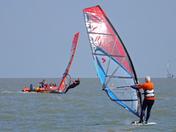 Felixstowe windsurfing event