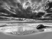 Storm Clouds Over Orcombe Point