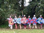Vikings at Woodbridge Regatta