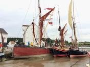 Boats exhibited at Woodbridge Regatta