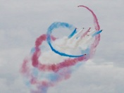 Red Arrows at Sidmouth 2018