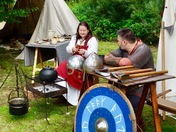 The Vikings and Anglo Saxons at maritime Woodbridge