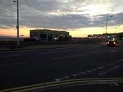 Weston's Knightstone Island & Pier at Sunset