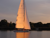 Oulton Broad Sunset Sail