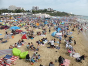 Visit to Bournemouth beach.