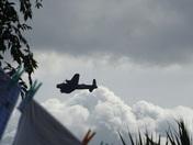 Avro Lancaster Flypast