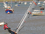 Sailing at Felixstowe Ferry