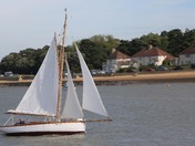 Sailing at Felixstowe Ferry