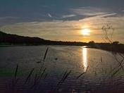 Sunset Martlesham creek
