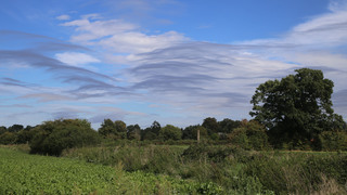Standing wave clouds King's Lynn