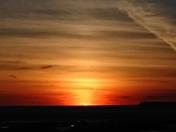 Sunset Sunset Over Weston