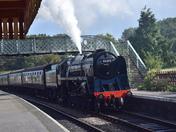 Black Prince At Weybourne Station North Norfolk Railway