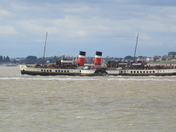 Waverley leaving the Orwell