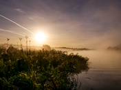 Sunsational mist on the Yare
