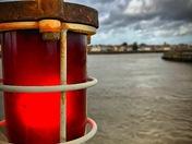 Harbour lights at Gorleston