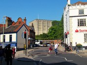 NORWICH CASTLE FROM A DIFFERENT PROSPECTIVE