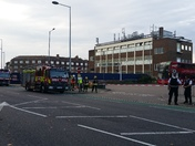 Suspicious material reported on 169 Bus in Barking, Police/Fire Brigade present