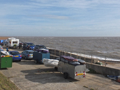 Busy day at The Dip, Felixstowe