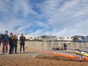 Felixstowe windsurfers