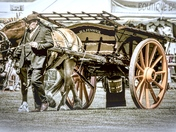 Horse and Cart with Wheels