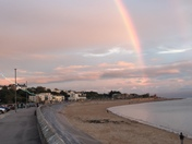 Rainbow over Exmouth