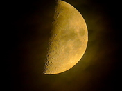 Our beautiful moon.