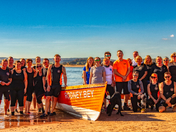 Some for the crew from Exmouth Rowing Club