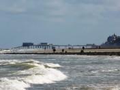 Cromer Pier from W Runton