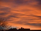 Beautiful colour sky