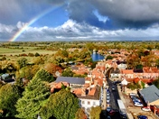 Rainbow over Beccles