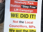 New lifts at Newbury Park Station