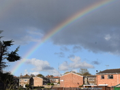 Rainbow over Lowestoft