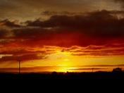 Sunset in Burgh