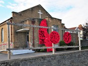 Poppies at Milton Methodist Church