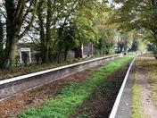 Forgotten station at Honing