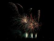 Fireworks in Felixstowe