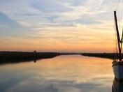 Halvergate sunset