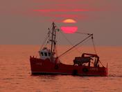 Crab boat at Heacham