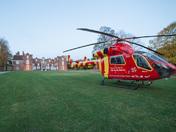 Air Ambulance in Christchurch Park