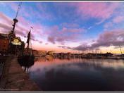 Ipswich Marina last week sunset
