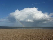 Cloud with rainbow - Aldeburgh
