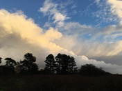Sutton Common clouds